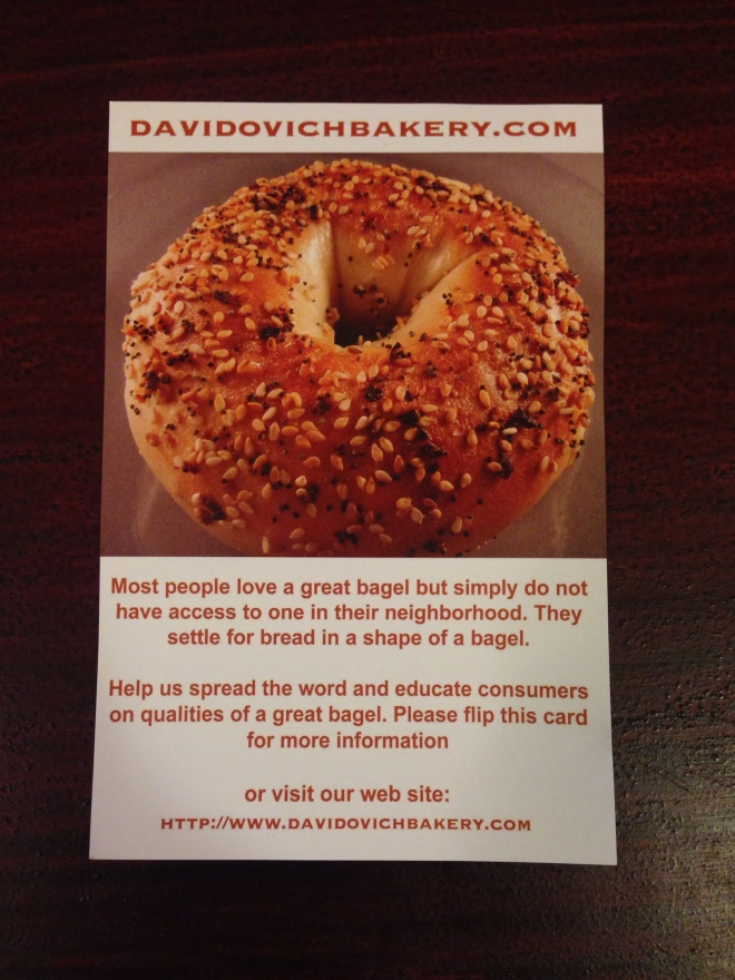 bagel knowledge 1